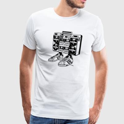 Boom Box Eighties - Men's Premium T-Shirt