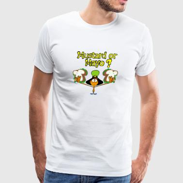 Mustard or Mayo - Men's Premium T-Shirt