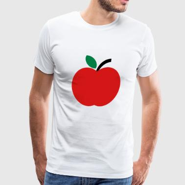2541614 15448728 apfel - Men's Premium T-Shirt