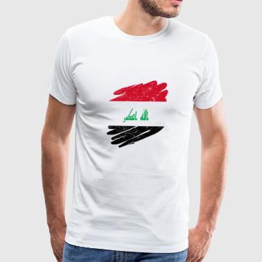 Pinsel Land Heimat Irak - Men's Premium T-Shirt