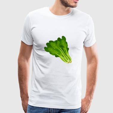 Lettuce Salad Spinace Gift Present - Men's Premium T-Shirt