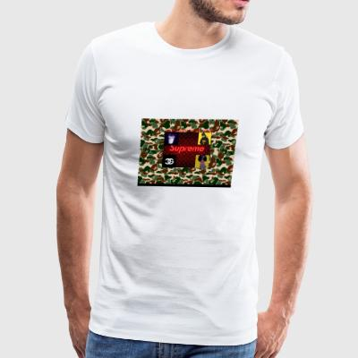 just insta clout - Men's Premium T-Shirt