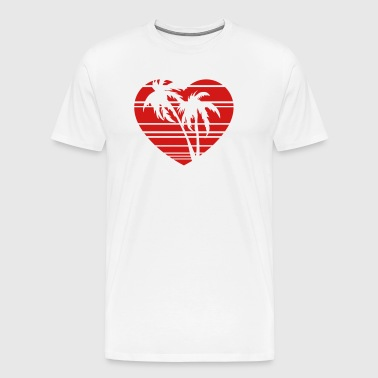palm heart - Men's Premium T-Shirt