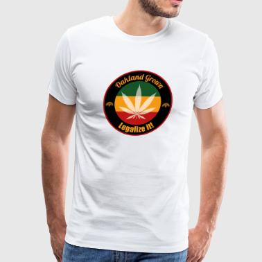 Oakland Grown Cannabis 420 Wear - Men's Premium T-Shirt