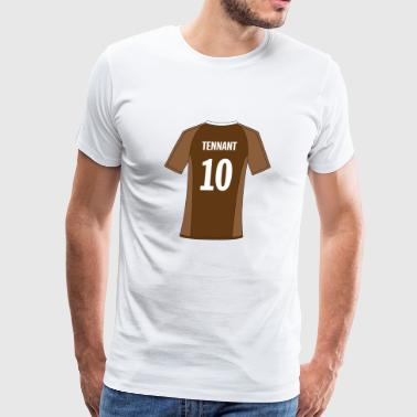 Tenth Doctor sports jersey - Men's Premium T-Shirt
