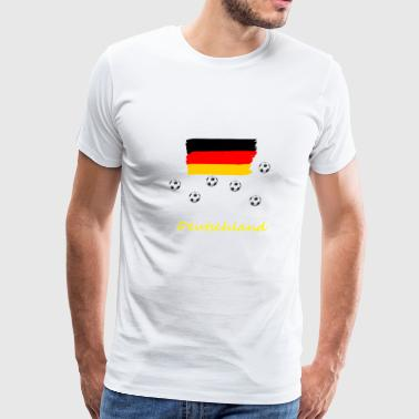 Germany flag - Men's Premium T-Shirt
