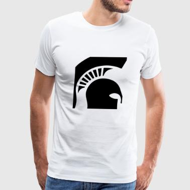 spartanhelmet blak - Men's Premium T-Shirt