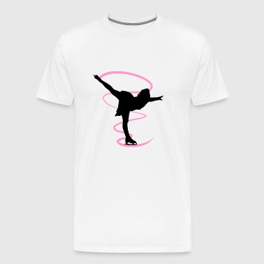 Figure skating and ice figure dance is an artistry - Men's Premium T-Shirt