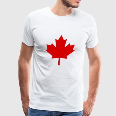 Canada Red Leaf - Men's Premium T-Shirt