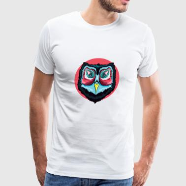 Whooo Are You Looking At - Men's Premium T-Shirt