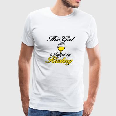 this girl riesling - Men's Premium T-Shirt