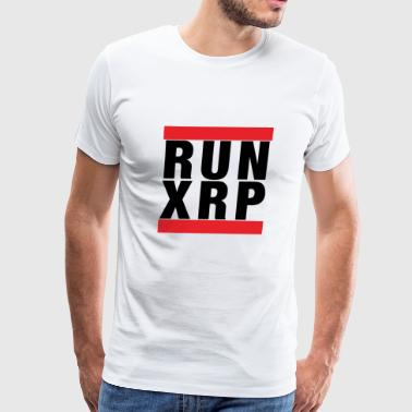 Ripple: Run XRP - Men's Premium T-Shirt