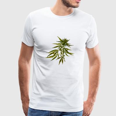 hanf cannabis kiffen marijuana hemp grass gras8 - Men's Premium T-Shirt