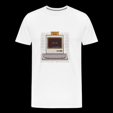 Old PC Geek - Men's Premium T-Shirt