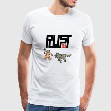 rust - Men's Premium T-Shirt