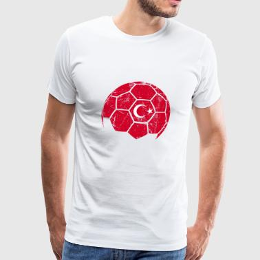 Turkey Soccer Football Ball - Men's Premium T-Shirt