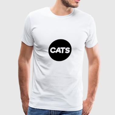 Cat Lover Tee 17 - Men's Premium T-Shirt