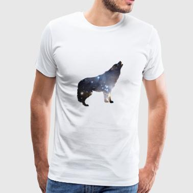 Wolf Galaxy - Gift - Men's Premium T-Shirt