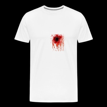 bullet hole - Men's Premium T-Shirt