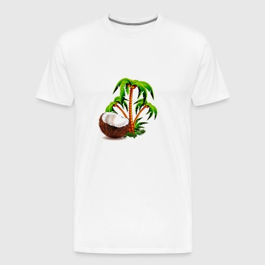 GIFT - COCONUT - Men's Premium T-Shirt