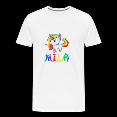 Mila Unicorn - Men's Premium T-Shirt