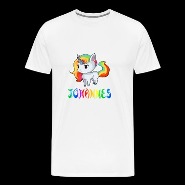 Johannes Unicorn - Men's Premium T-Shirt