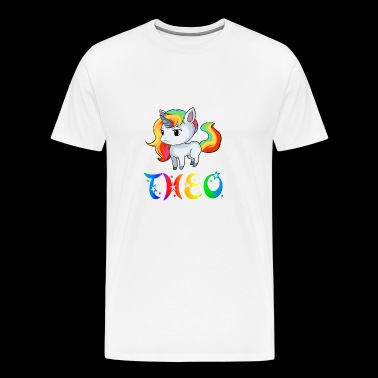 Theo Unicorn - Men's Premium T-Shirt