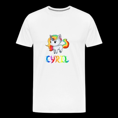 Cyril Unicorn - Men's Premium T-Shirt