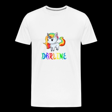 Darline Unicorn - Men's Premium T-Shirt