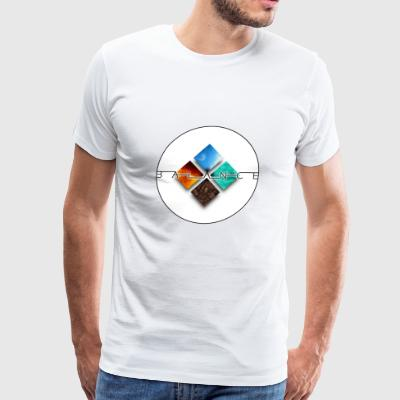 4 Elements balanced - Men's Premium T-Shirt