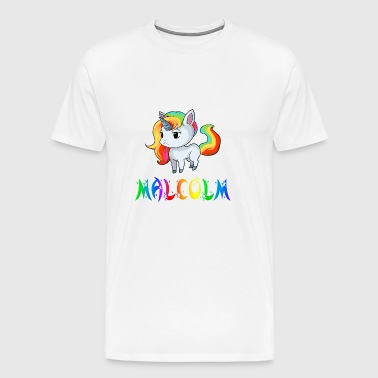 Malcolm Unicorn - Men's Premium T-Shirt