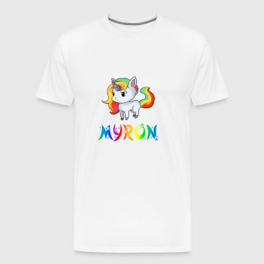 Myron Unicorn - Men's Premium T-Shirt