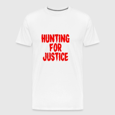 Hunting for Justice T-Shirt - Men's Premium T-Shirt