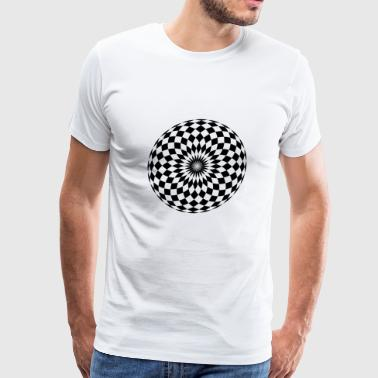 Checkerboard - Men's Premium T-Shirt