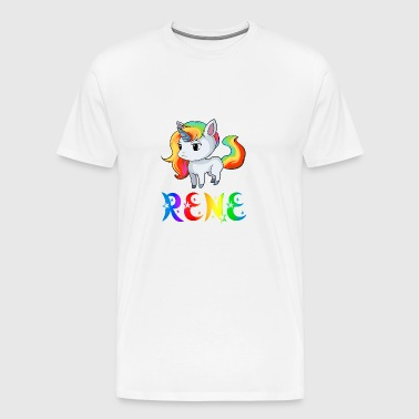 Rene Unicorn - Men's Premium T-Shirt