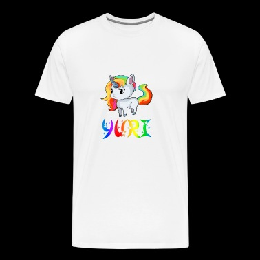 Yuri Unicorn - Men's Premium T-Shirt