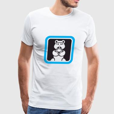 Bear Icon - Men's Premium T-Shirt
