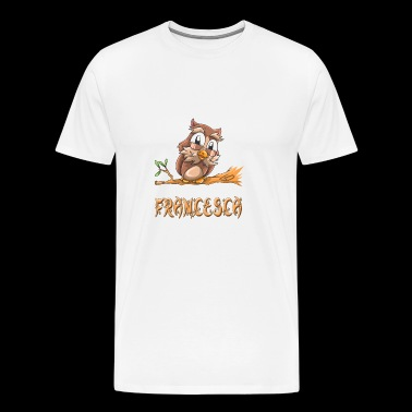 Francesca Owl - Men's Premium T-Shirt
