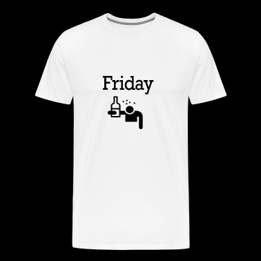 Friday Party Funny Weekend 49 - Men's Premium T-Shirt