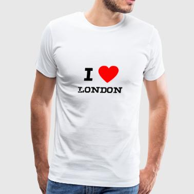 i love London - Men's Premium T-Shirt