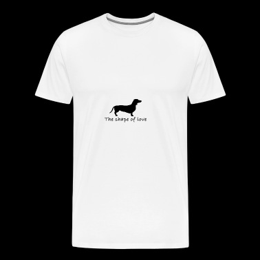 CUTE DOG DESIGN - Men's Premium T-Shirt