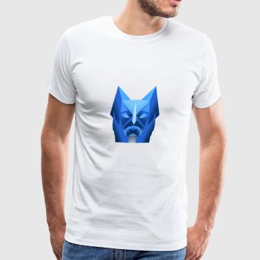 Dog in the dark - Men's Premium T-Shirt