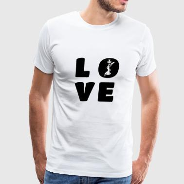 Shisha Love Hookah Love Gift - Men's Premium T-Shirt