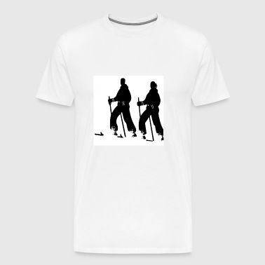 skier - Men's Premium T-Shirt