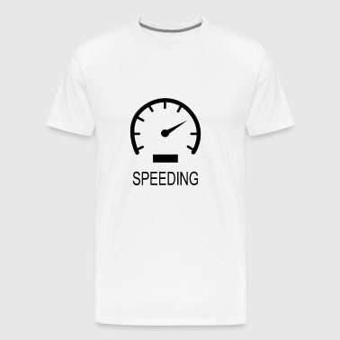 SPEEDING - Men's Premium T-Shirt