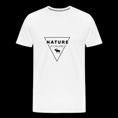 Nature lover - Nature is calling - Men's Premium T-Shirt