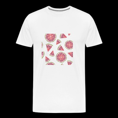 Watermelon Fruit Shirt - Men's Premium T-Shirt
