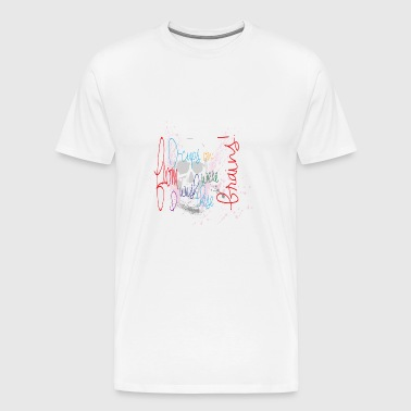 big boobs - Men's Premium T-Shirt