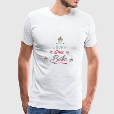 bake - Men's Premium T-Shirt