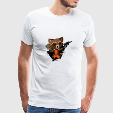 Rocket Raccoon Breakthrough - Men's Premium T-Shirt
